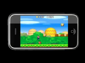 iPhone Super Mario