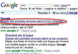 Google Panic