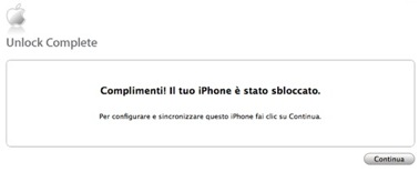 Attivazione iPhone