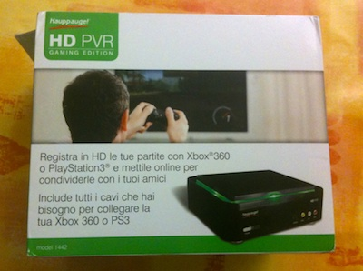 HD PVR Gaming Edition - Box