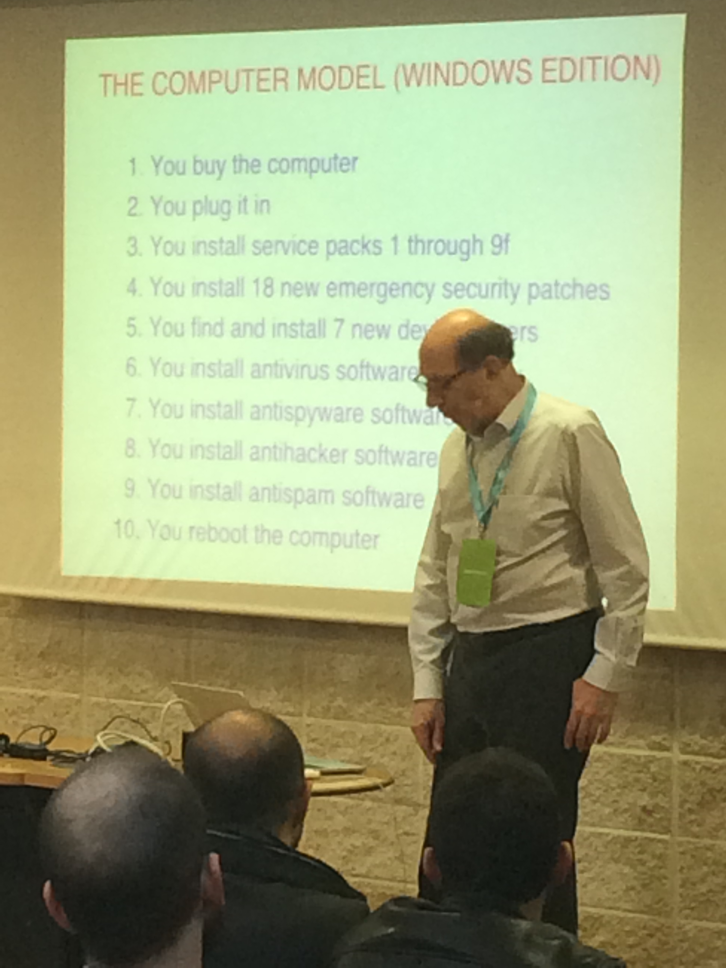 Codemotion 2015 Roma - Andy Tanenbaum